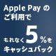 Apple Pay ダブルキャンペーン